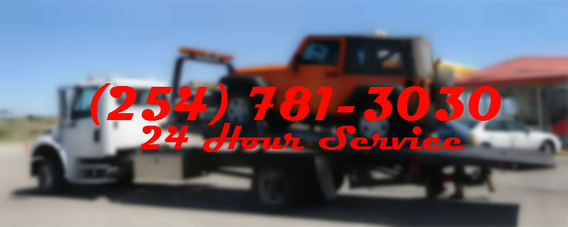 24 Hour Tow Truck Temple TX